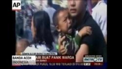 Earthquake In Indonesia Prompts Tsunami Fears