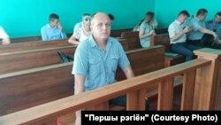 Журналіст выданьня «Першы рэгіён» Сяргей Гардзіевіч у судзе