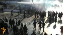 Kosovo Police Clash With Border Protesters