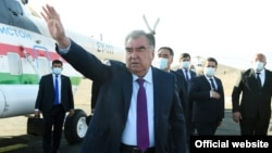 """Tajik President Emomali Rahmon arrives in Vorukh on April 9: """"There have not been any talks about the possible exchange of Vorukh for another territory in the last 19 years, and there is no possibility for it."""""""