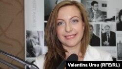 Moldova, Natalia Berega, student, author of RFE/RL' weekly diary