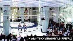 Пресс-конференция Иванишвили