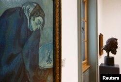 Un tablou de Pablo Picasso la Muzeul de Artă din Berna