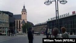 Привокзальная площадь в Кёльне
