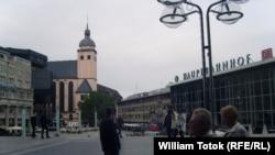 Привокзальная площадь в Кёльне. Иллюстративное фото.