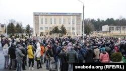 «Марш недармаедаў» у Рагачове 12 сакавіка