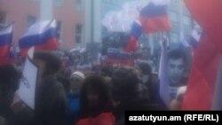 Երթ՝ նվիրված Բորիս Նեմցովի սպանության տարելիցին, Մոսկվա, 27-ը փետրվարի, 2016թ․
