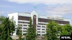 Здание управления внутренних дел Западно-Казахстанской области. Уральск, 5 июня 2009 года.