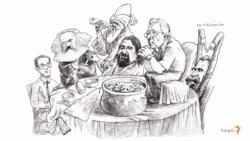 آبگوشتخوری اسماعیل خویی در کنار مارکس، نیچه و مولوی