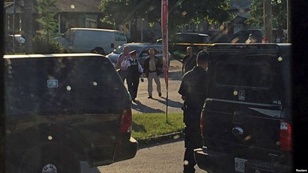 В Канаде полиция застрелила мужчину, готовившего теракт