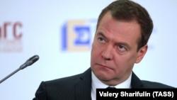 Orsýetiň premýer-ministri Dmitriý Medwedew. Arhiw suraty