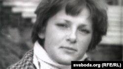 Тацяна Сапач у часы напісаньня «Раньніх вершаў»