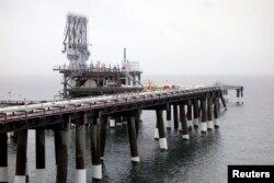 АҚШ-тың Мэриленд штатындағы газ терминалы. 5 ақпан 2014 жыл.