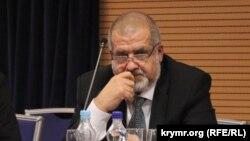 Голова Меджлісу кримських татар, депутат Верховної Ради України Рефат Чубаров