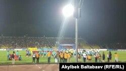 Кыргызстан - Филиппин футбол курамаларынын беттеши. 6-сентябрь, 2016-ж.