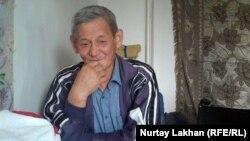 Турган Токкожин, житель Дома ветеранов. Алматы, 30 сентября 2014 года.