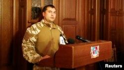 Луганск облысының «халық губернаторы» Валерий Болотов. Луганск, 18 шілде 2014 жыл.