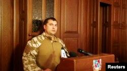 Валерий Болотов, «народный губернатор» Луганской области. Луганск, 18 июля 2014 года.