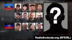 Ватажки бойовиків угруповань «ЛНР» і «ДНР», які були вбиті чи несподівано померли в 2016-2017 роках