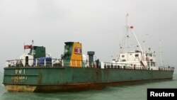 Севернокорејскиот брод што беше фатен во Панама како шверцува оружје од Куба.