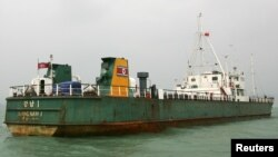 یک کشتی باری کره شمالی- تصویر آرشیوی است.