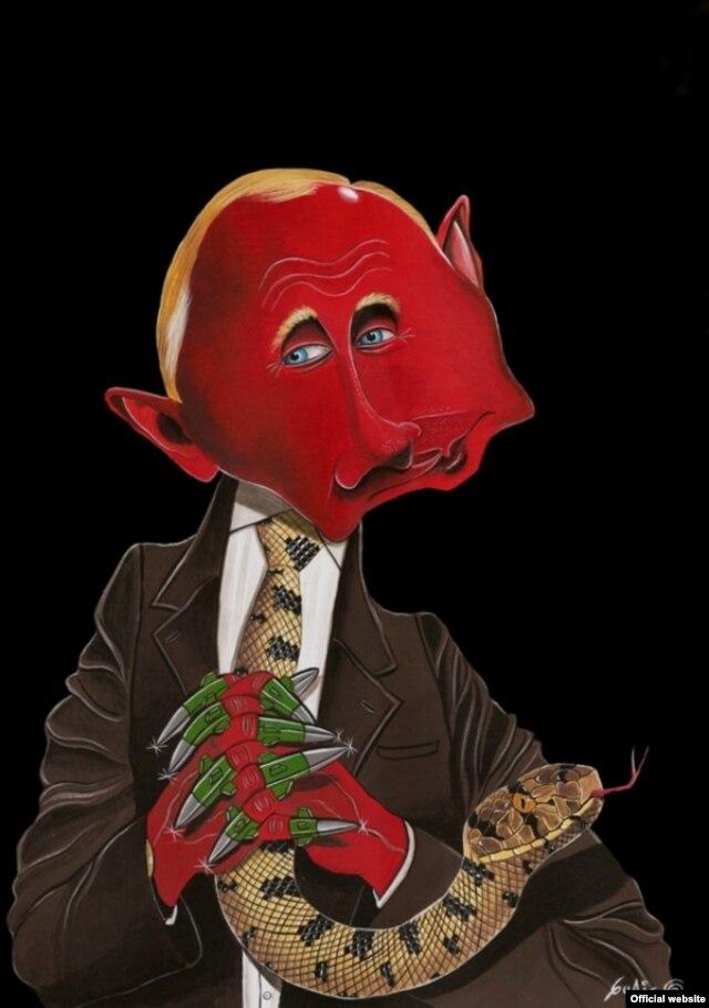 Карикатура колумбийского карикатуриста Гуачо