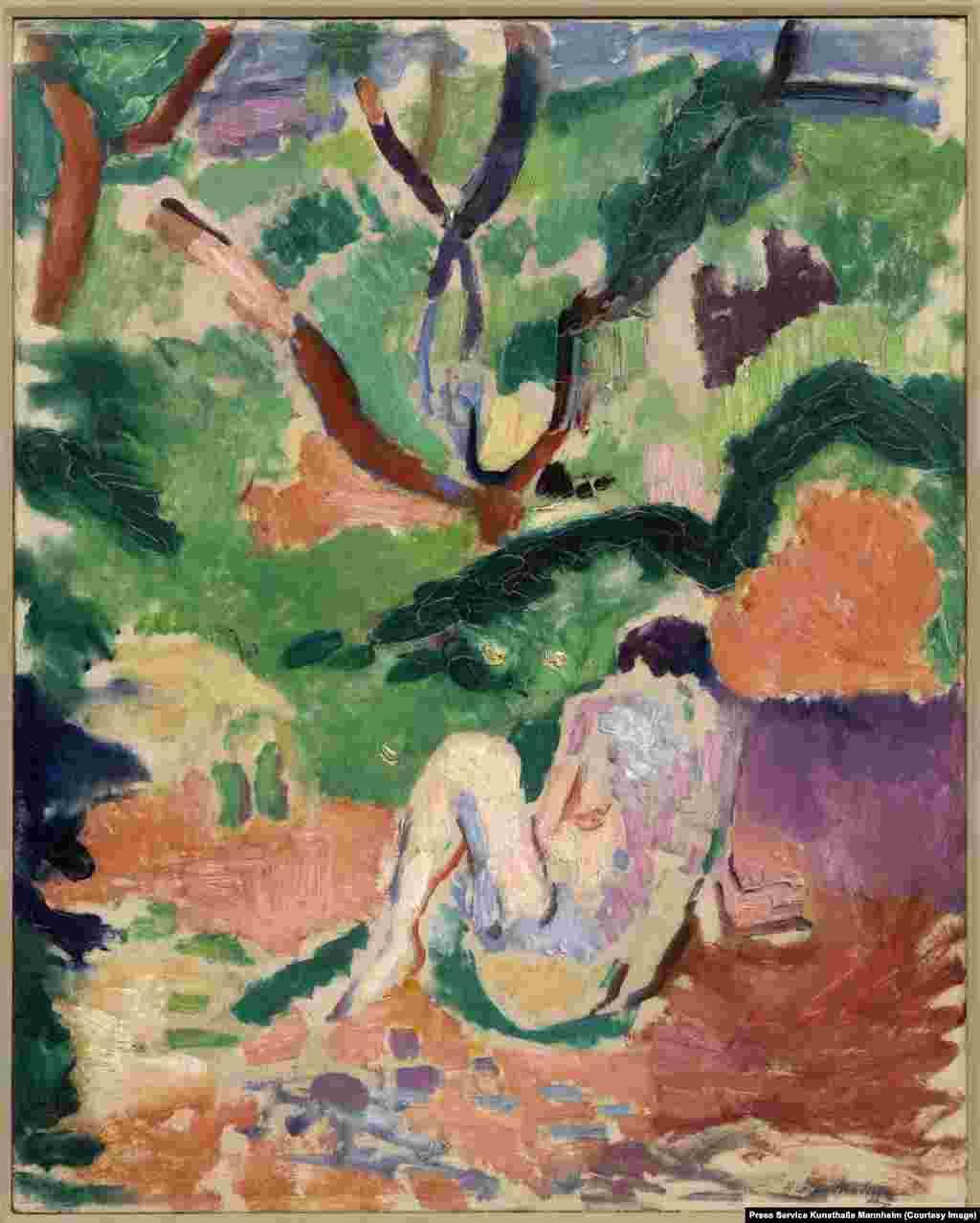 Matisse, Nud în pădure, 1906 (Brooklyn Museum).