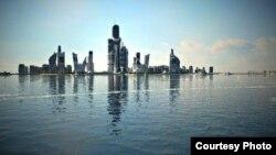 Макет несуществующего запроектированного города.