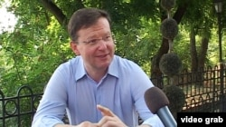 Odesa mayoral candidate Sasha Borovik