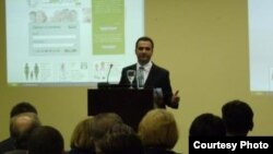 Доктор Владимир Лазаревик, експерт за јавно здравство и основач на интернет мрежата Хелтгрупер.