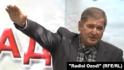 Тажикстандын социал-демократтар партиясынын лидери Рахматилло Зоиров