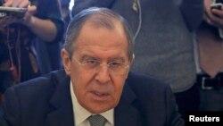 Министр иностранных дел России Сергей Лавров (архив)