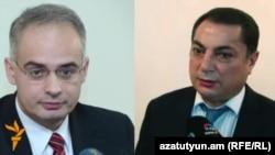 Левон Зурабян (слева) и Ваграм Багдасарян