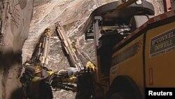 На шахте в Новой Зеландии