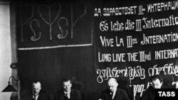Kongresi themelues i Komunistëve Ndërkombëtar në Bashkimin Sovjetik, 1919.