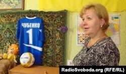 Сталіна Чубенко у кімнаті сина