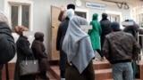 Назди Бемористони сироятии Душанбе.