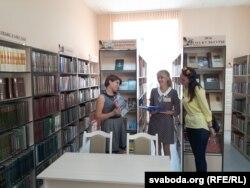 Чытальная заля бібліятэкі імя Ўладзімера Караткевіча