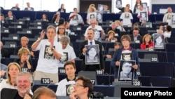 Avropa Parlamentində aksiya - 8 iyun 2015