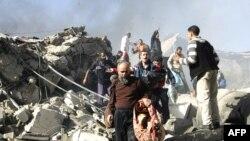 یک زندان در غزه مورد حمله قرار گرفته و زندانیان گریختهاند. (عکس: Afp)