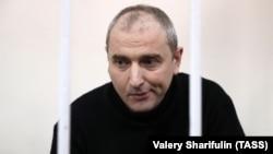 Vladimir Anikeyev məhkəmədə, arxiv fotosu