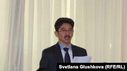 Активист группы «Антигептил» Максат Ильясулы (Нурыпбаев).
