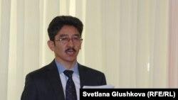 Астанадағы азаматтық белсенді Мақсат Ілиясұлы.