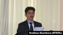 Гражданский активист Максат Ильясулы. Астана.