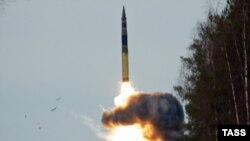 Russia said the missile test was successful (file photo).