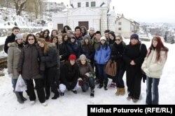 Mladi Jevreji u Sarajevu, 27. januar 2012.