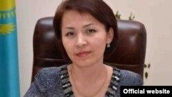 Начальник городского отдела образования Ляззат Оразбаева. Фото с официального сайта акимата города Актобе.