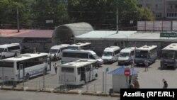 Акмәчеттәге Курортная автостанциясе