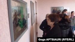 В последние годы в изобразительном искусстве Абхазии появилось немало новых имен