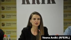 Dragana Pećo, novinarka KRIK-a